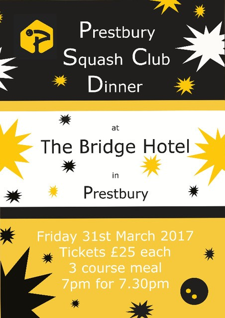 End of Season Dinner – 31 March 2017