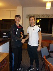 MOTM at Prestbury Squash Club.... Brian Lomas (Prestbury 1 and Club coach) with an awesome win against Alderley Edge 2