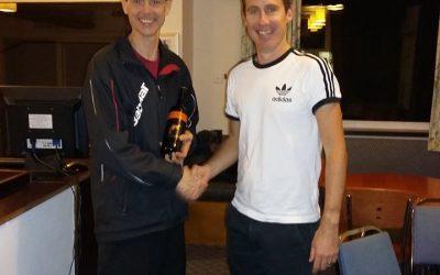 Gareth's Squash Report 24 November 2016